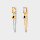 Galileo Green Adventurine 14K Gold Necklace