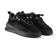 Pair of Aero Black Trainers