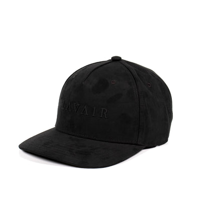 Apollo Black Cap. 100% Faux Suede. Luxury Headwear.