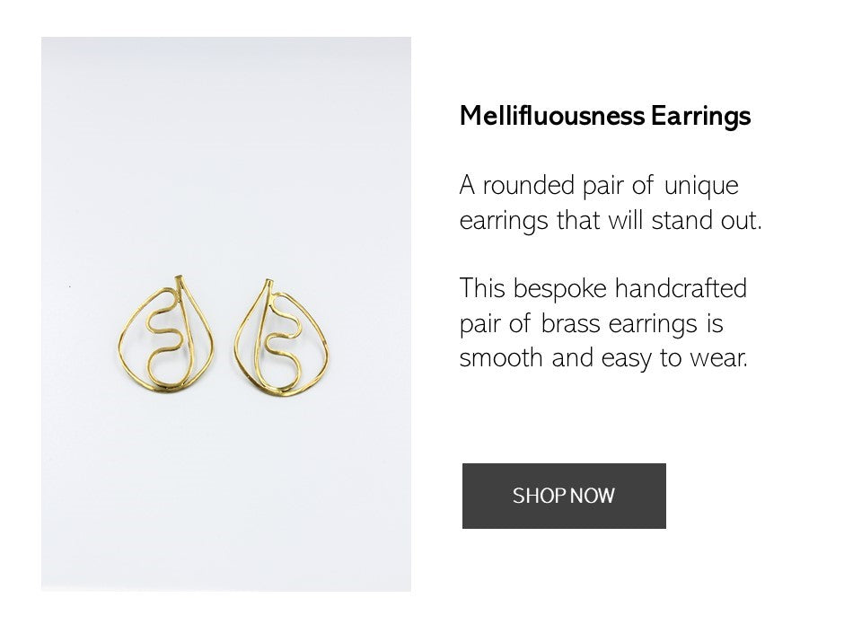 Shop the Mellifluousness Earrings Here Now | AFRENAI