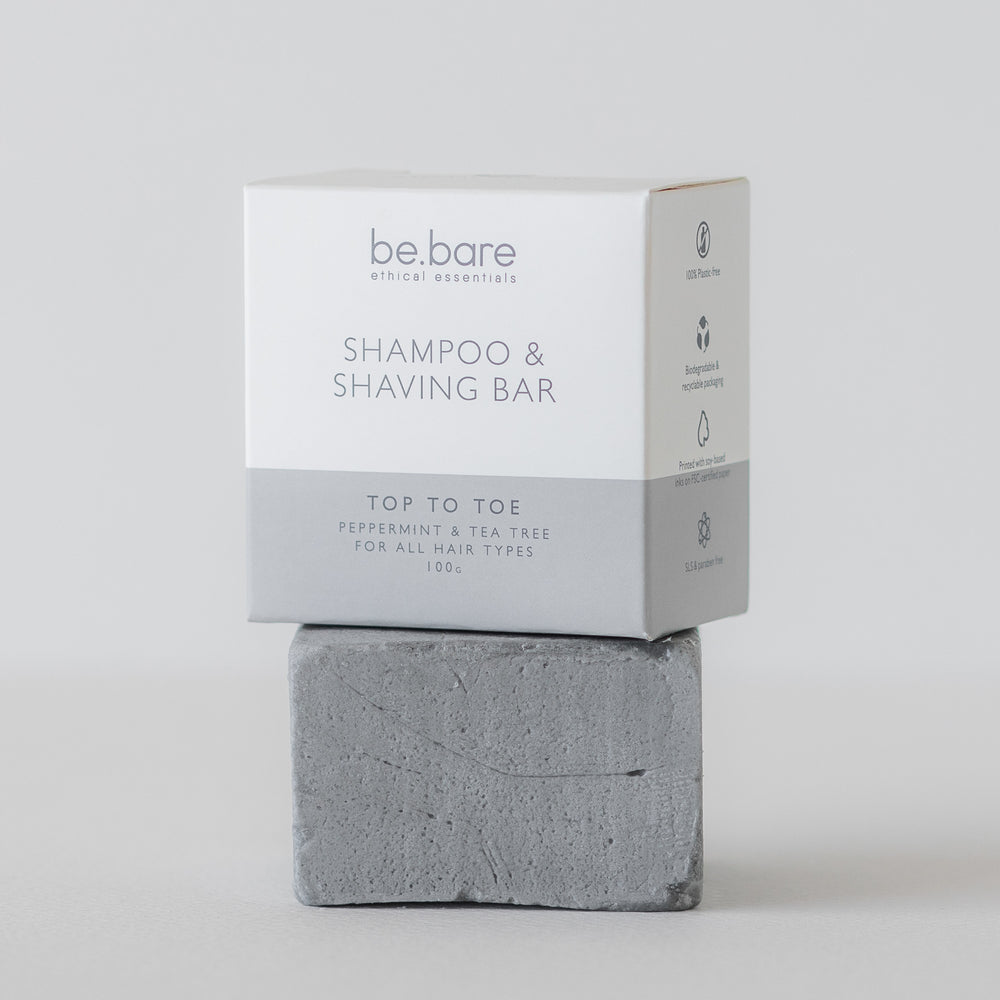 Top To Toe Shampoo & Shaving Bar