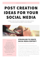 30 Post Creation Ideas For Your Social Media
