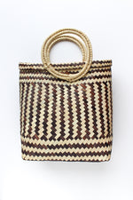 Monochromatic Basket Bag