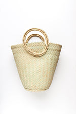Cone Basket Bag
