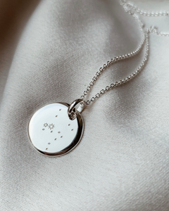 Collier constellation argent