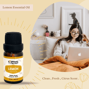 Pure Lemon Essential Oil 10ml