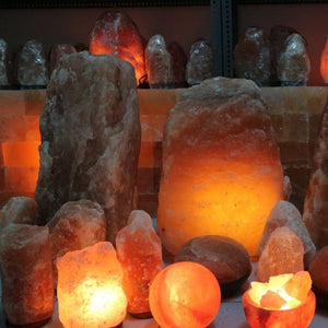 Giant Himalayan Salt Lamp