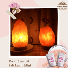 PROMO! ( Bundle 3) Room Lamp + Salt Lamp Mini