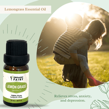 Pure Lemongrass Essential Oil 10ml