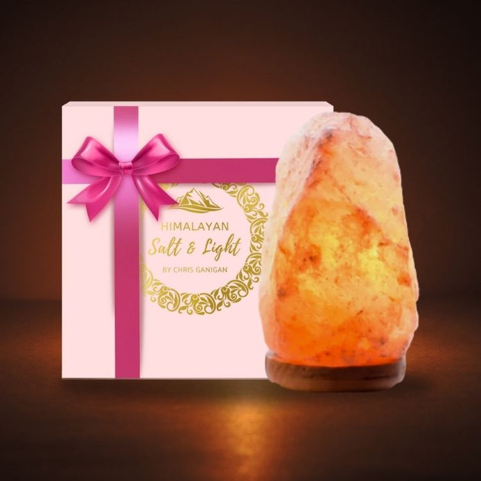 Salt Lamp mini with Giftbox