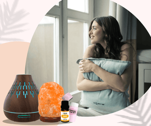 Aromatherapy Bundle ( Salt Lamp & Diffuser )