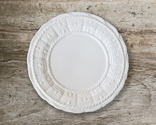 Basket Felice - Dinner Plate - White Glaze