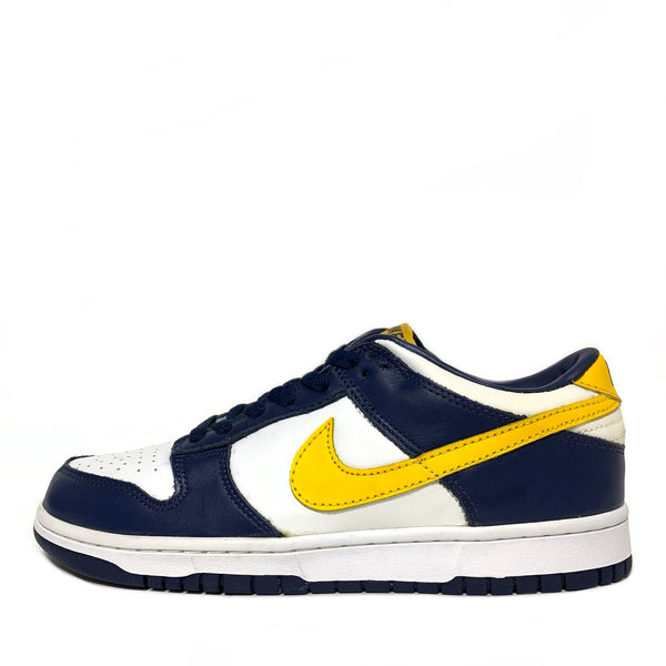 NIKE DUNK LOW VARSITY MAIZE MIDNIGHT NAVY