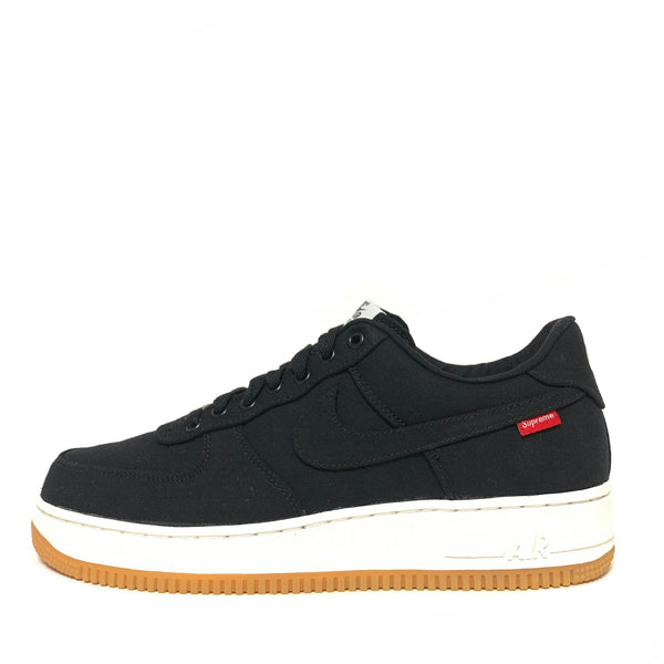 NIKE AIR FORCE 1 LOW PREMIUM 08 NRG SUPREME BLACK