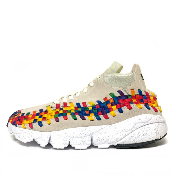 NIKE AIR FOOTSCAPE WOVEN CHUKKA  PRM QS RAINBOW