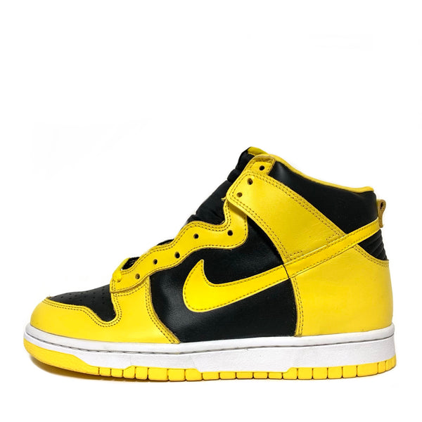 NIKE DUNK HIGH LE GOLDENROD