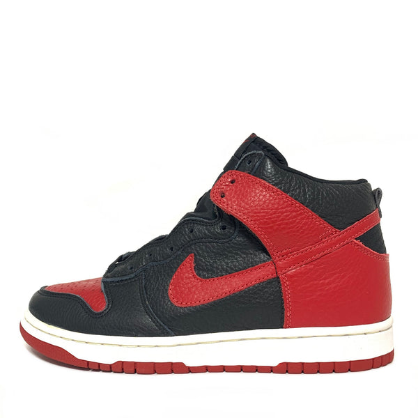 NIKE DUNK HIGH FOOTACTION BLACK VARSITY RED