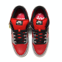 NIKE DUNK LOW PREMIUM SB SUPREME FIRE RED