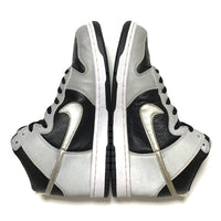 NIKE DUNK HIGH BLACK METALLIC SILVER 3M