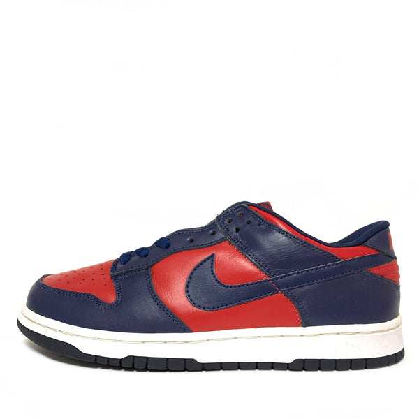 NIKE DUNK LOW VARSITY RED MIDNIGHT NAVY