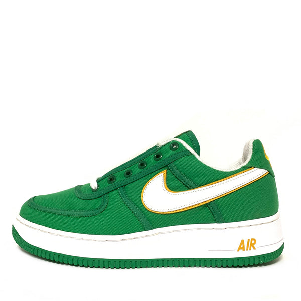 NIKE AIR FORCE 1 CANVAS CLASSIC GREEN