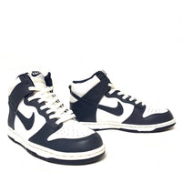 NIKE DUNK HIGH WHITE MIDNIGHT NAVY