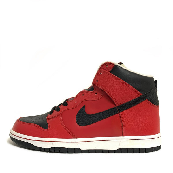 NIKE DUNK HIGH VARSITY RED BLACK