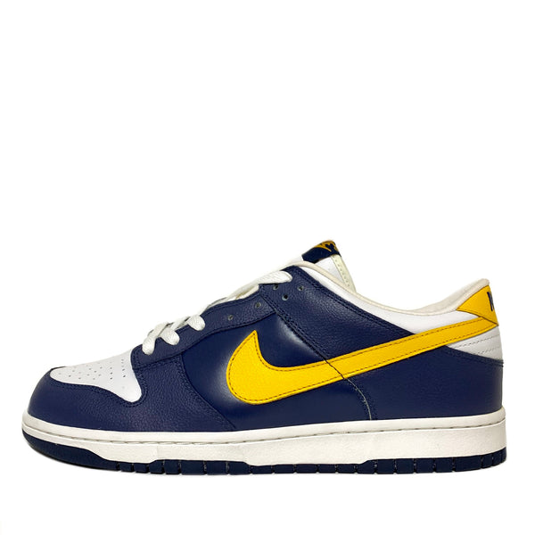 NIKE DUNK LOW MIDNIGHT NAVY YELLOW