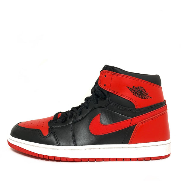 NIKE AIR JORDAN 1 RETRO BLACK VARSITY RED