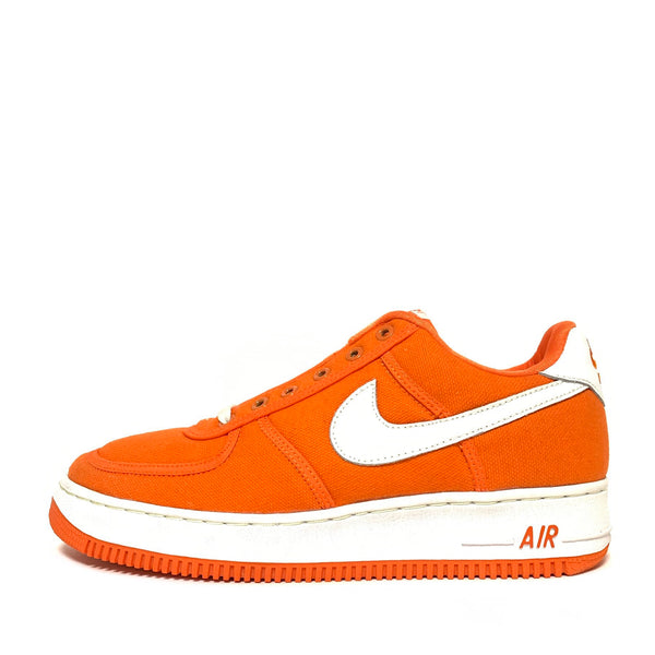 NIKE AIR FORCE 1 CANVAS SAFETY ORANGE