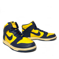 NIKE DUNK HIGH QK (VNTG) MICHIGAN