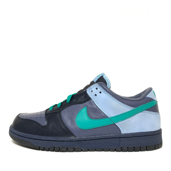 NIKE WMNS DUNK LOW PREMIUM MEDIUM DENIM ALOE