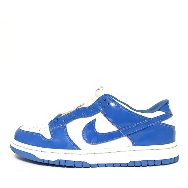NIKE DUNK LOW PATENT CAROLINA BLUE