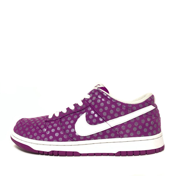 NIKE WMNS DUNK LOW 08 RED PLUM POLKA DOT
