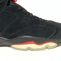 NIKE AIR JORDAN 6 RETRO BLACK VARSITY RED