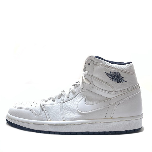 NIKE AIR JORDAN 1 (2001 ADDITION) WHITE MIDNIGHT NAVY