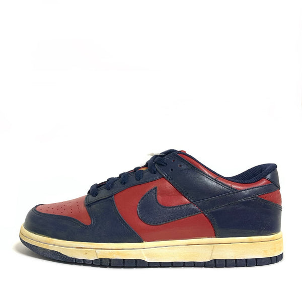 NIKE DUNK LOW VNTG VARSITY RED MIDNIGHT NAVY