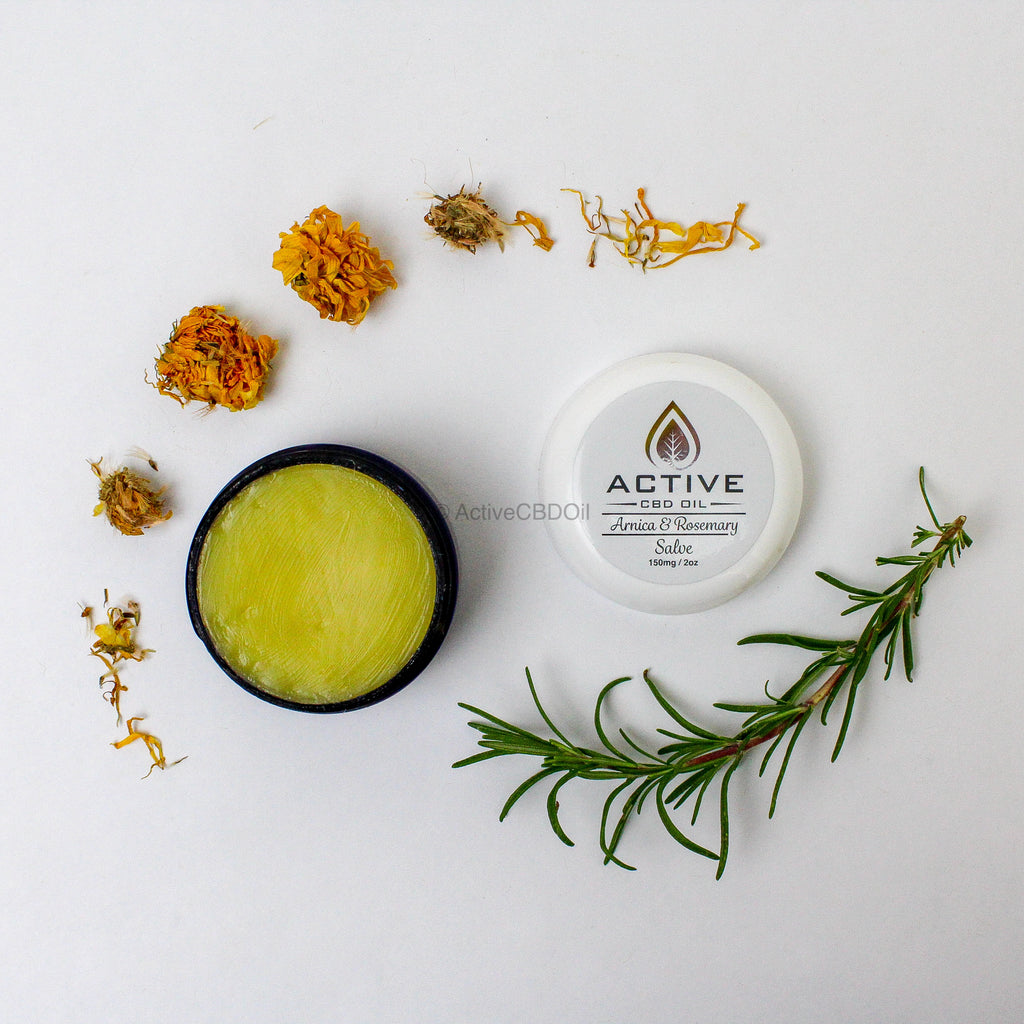 Active CBD Oil Super Strength Salve 150mg