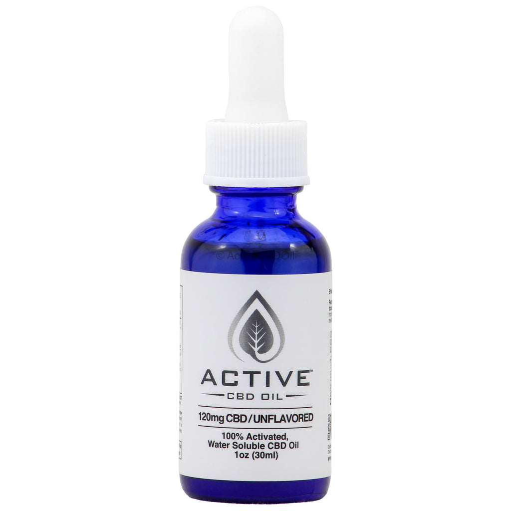 Water Soluble CBD Tincture 120mg