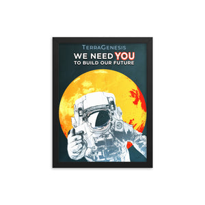 Framed We Need YOU Poster