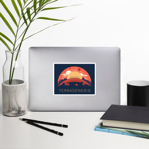 Landfall Dome Sticker
