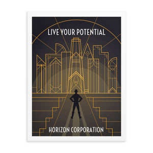 Framed Horizon Corporation Recruitment Poster