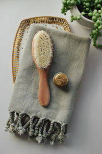 Turkish Hand Towel // Olive