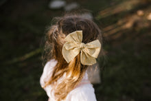 Load image into Gallery viewer, Cotton Lawn Dobby Spot Bow // Canary