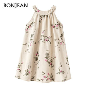 014e7f20416ec Girls Dress 2018 Summer Kids Dresses For Girls Print Princess Dress Party  Children Clothing Girls Baby vestido infant robe fille
