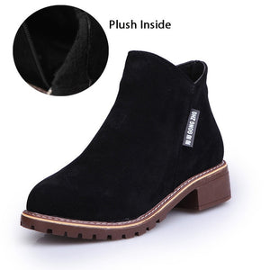 e596627cd2b New Classic Women Ankle Boots Winter Female Snow Women Casual shoes ...