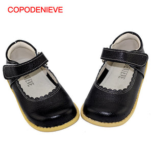 COPODENIEVE Girl flat heels spring and autumn style lace