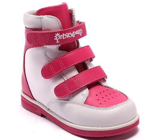 579a856191 Princepard Genuine Leather Boys Girls Orthopedic Footwears include Orthotic  Arch Support Flat Foot kids shoes baby