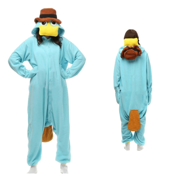 Animal Pajamas Lovely Duckmole Kigurumi Anime Cosplay Costume CMD150