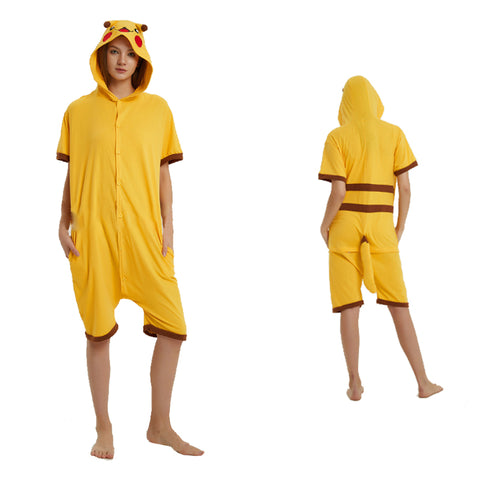 Summer Animal Pajamas Pikachu Cosplay Costume CMD050